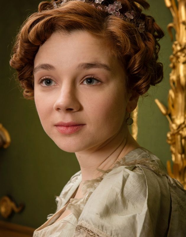 Amelia Sedley played by Claudia