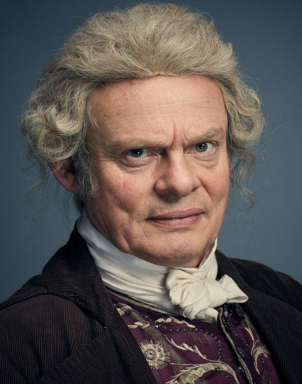 Sir Pitt Crawley played by Martin