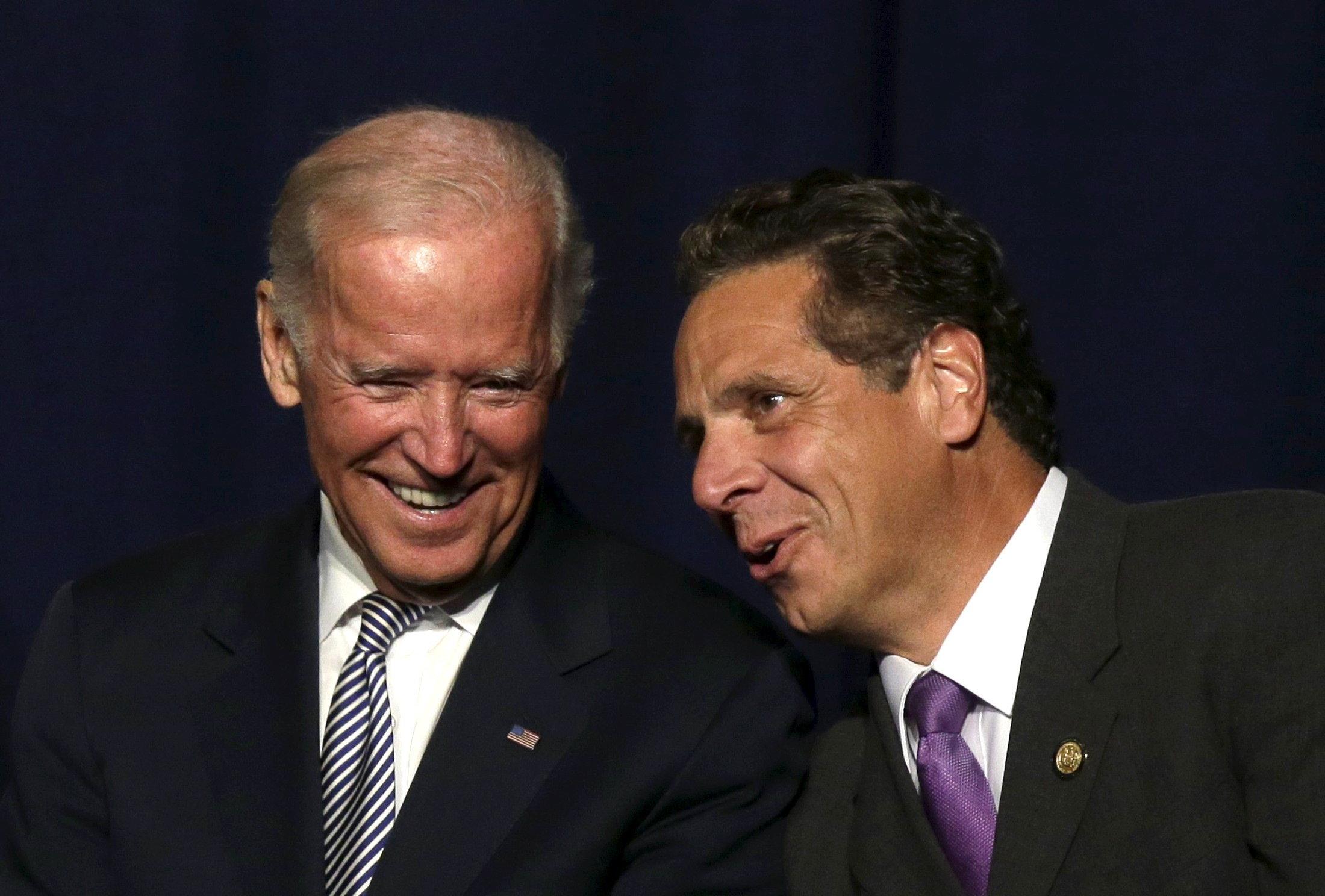 Joe Biden Endorses Andrew Cuomo Ahead Of Cynthia Nixon Debate Tonight