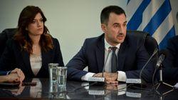 Με Χαρίτση, Χρυσοβελώνη και Νοτοπούλου η παράδοση-παραλαβή στο Υπουργείο
