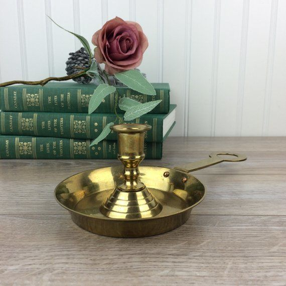 """Normally $22, on sale for $17.60.<br>Get it <a href=""""https://www.etsy.com/listing/636859847/vintage-brass-candle-holder-with-"""