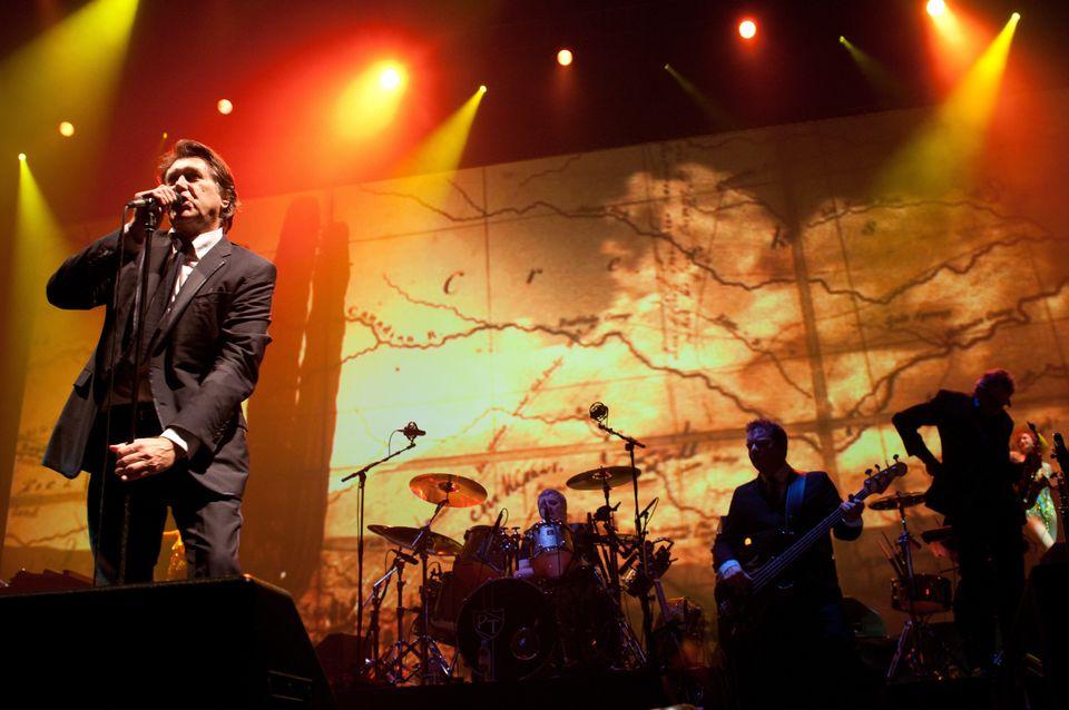 Ο Μπράιαν Φέρι σε συναυλία...