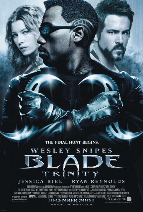 É impossível esquecer os olhos de computação gráfica de Wesley Snipes em 'Blade: