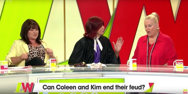 Janet served as mediator between Coleen and
