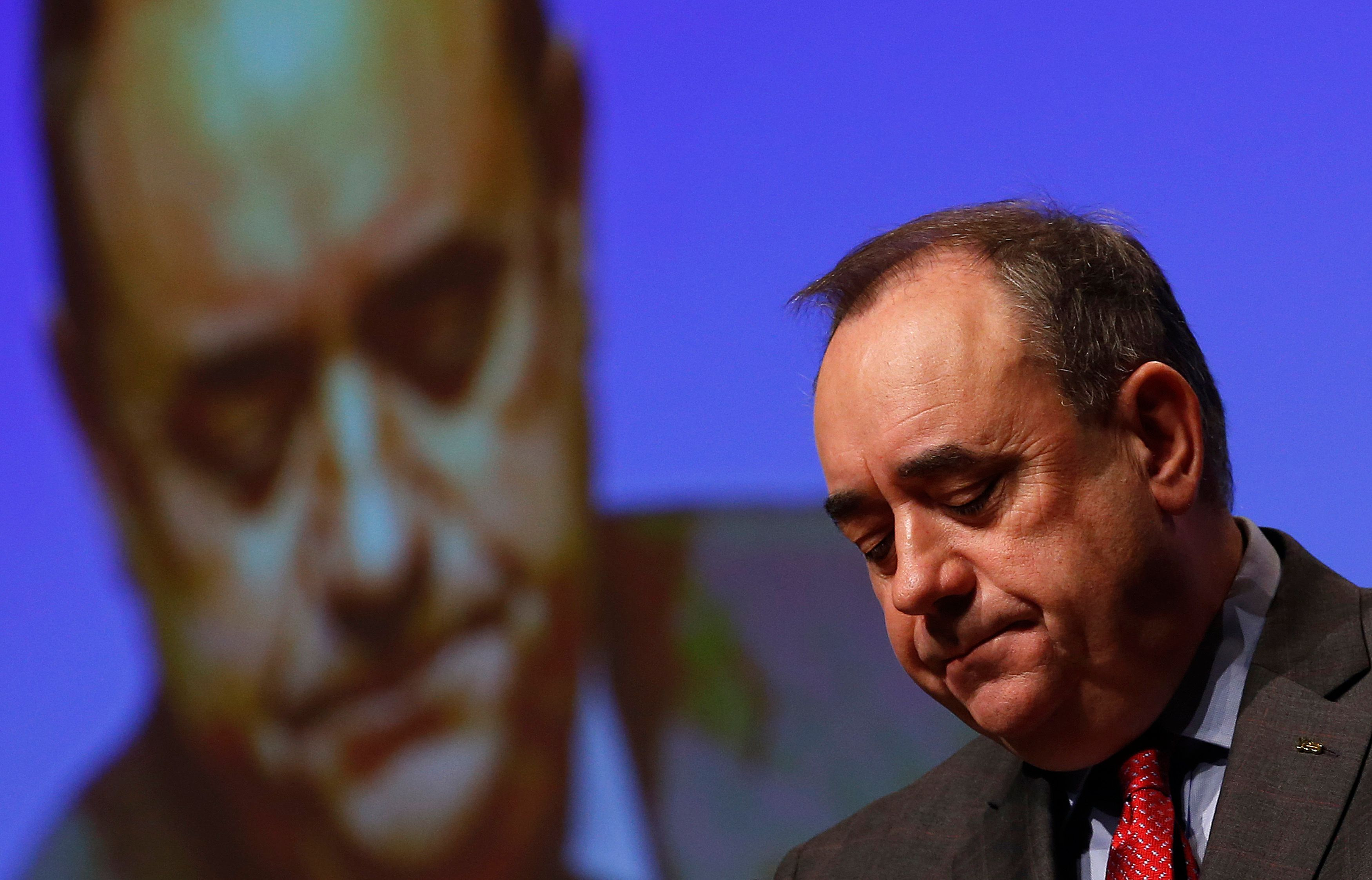 Alex Salmond Resigns From SNP Over Allegations Of Sexual