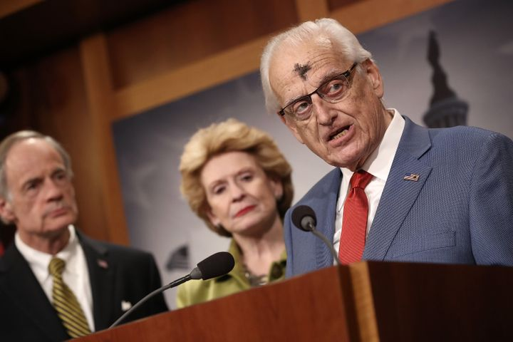 At a press conference on March 1, 2017, Rep. Bill Pascrell (D-N.J.) calls for President Donald Trump to release his tax retur