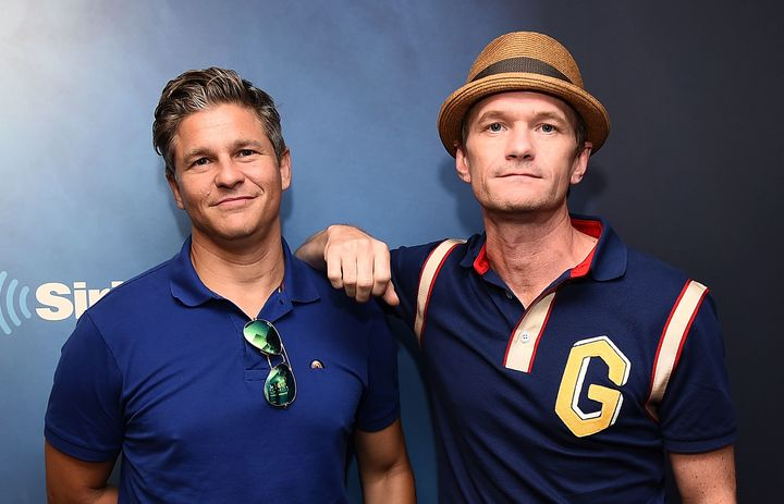 David Burtka (left) and Neil Patrick Harris are two of the executive producers of the legendary drag festival Wigstock, which returns to New York on Sept. 1.