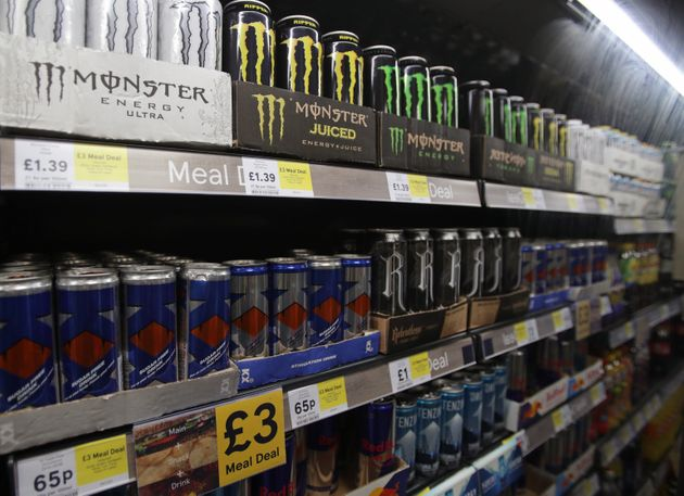Children In England To Be Banned From Buying Energy Drinks Such As Red Bull And Monster Amid Health