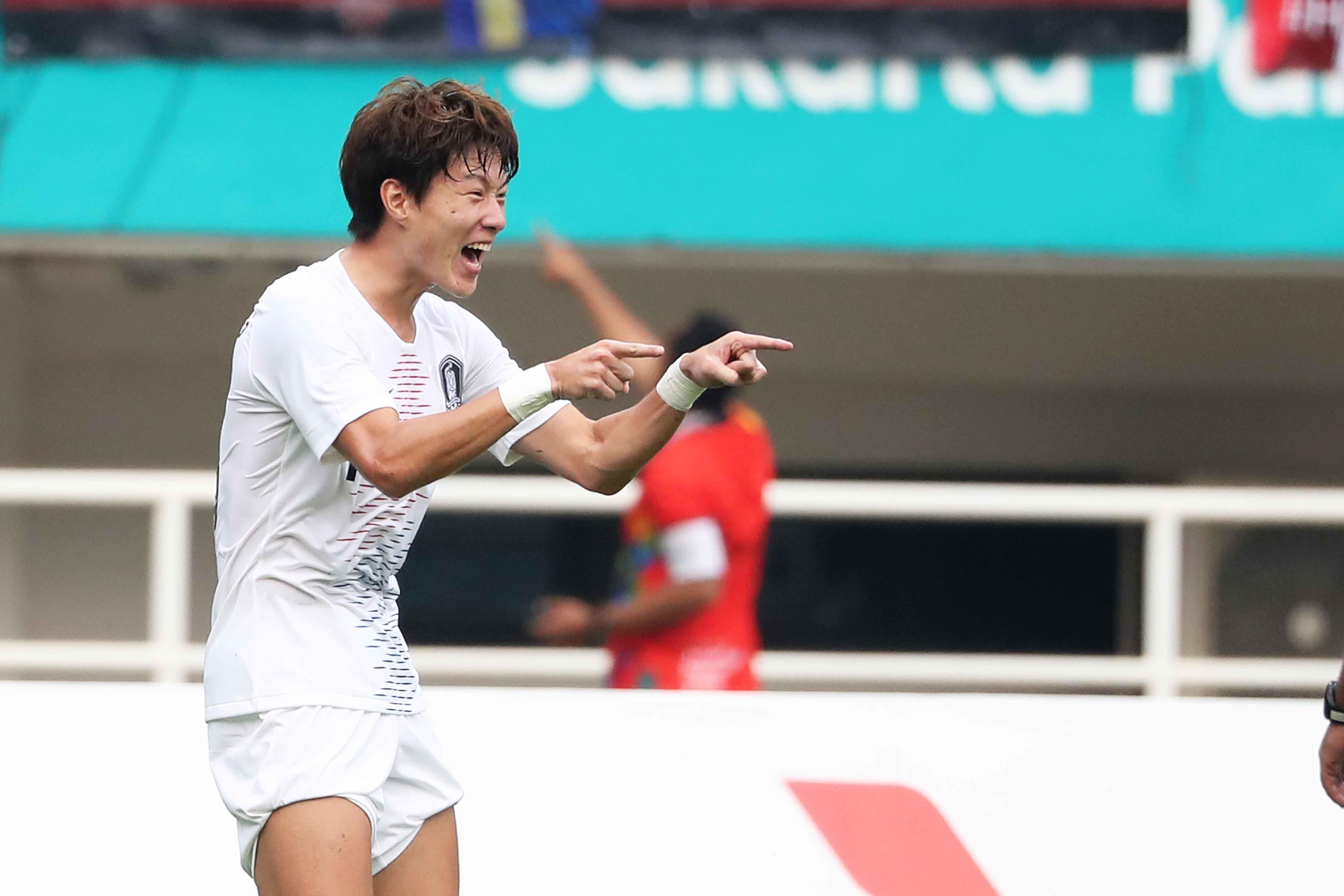아시안게임 축구 결승, 한일전으로 간다