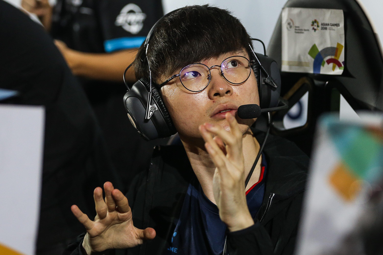 한국 롤 대표팀이 은메달을 차지하다(경기
