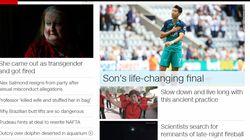 한국 남자축구의 아시안 게임 '병역 매치'가 얼마나 유명했는지 손흥민이 CNN 메인에까지