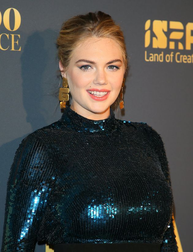 US model Kate Upton had also been