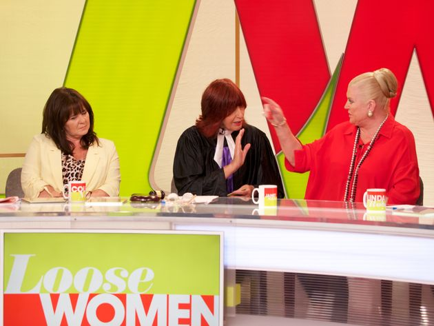 Coleen and Kim on 'Loose Women' last