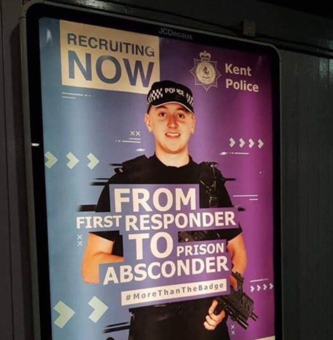 Kent Police Recruitment Drive Backfires And Leaves Residents