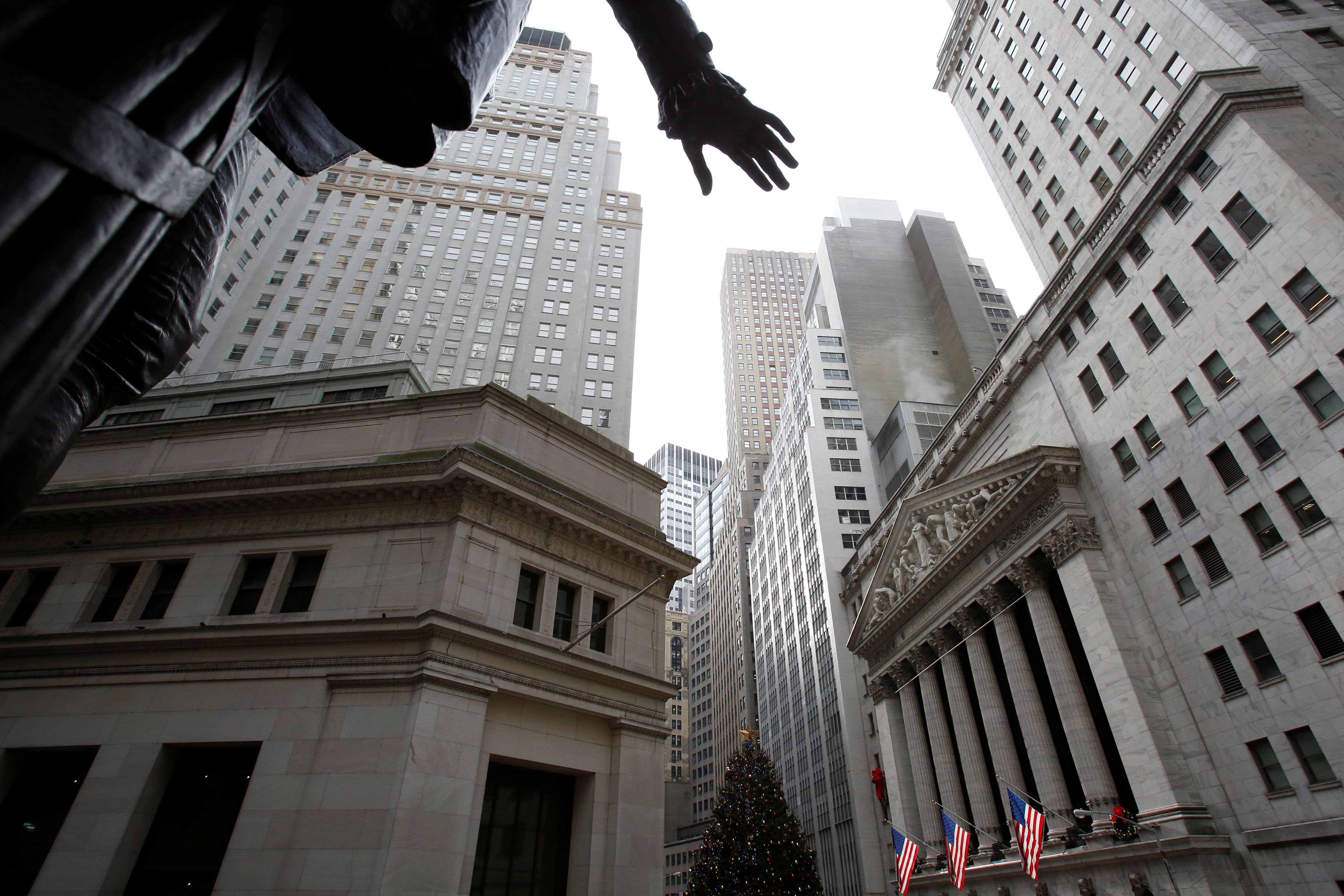 The New York Stock Exchange in New York City. Traditional ways of economic thinking aren't sufficient...
