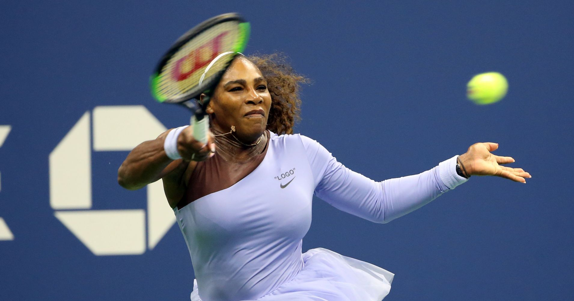 Serena Williams' Lavender Tutu Is Another Slammin' Hit At The U.S. Open