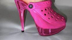 Crocs στιλέτο: Θα τολμούσατε αυτή τη νέα τάση στα πιο αμφιλεγόμενα