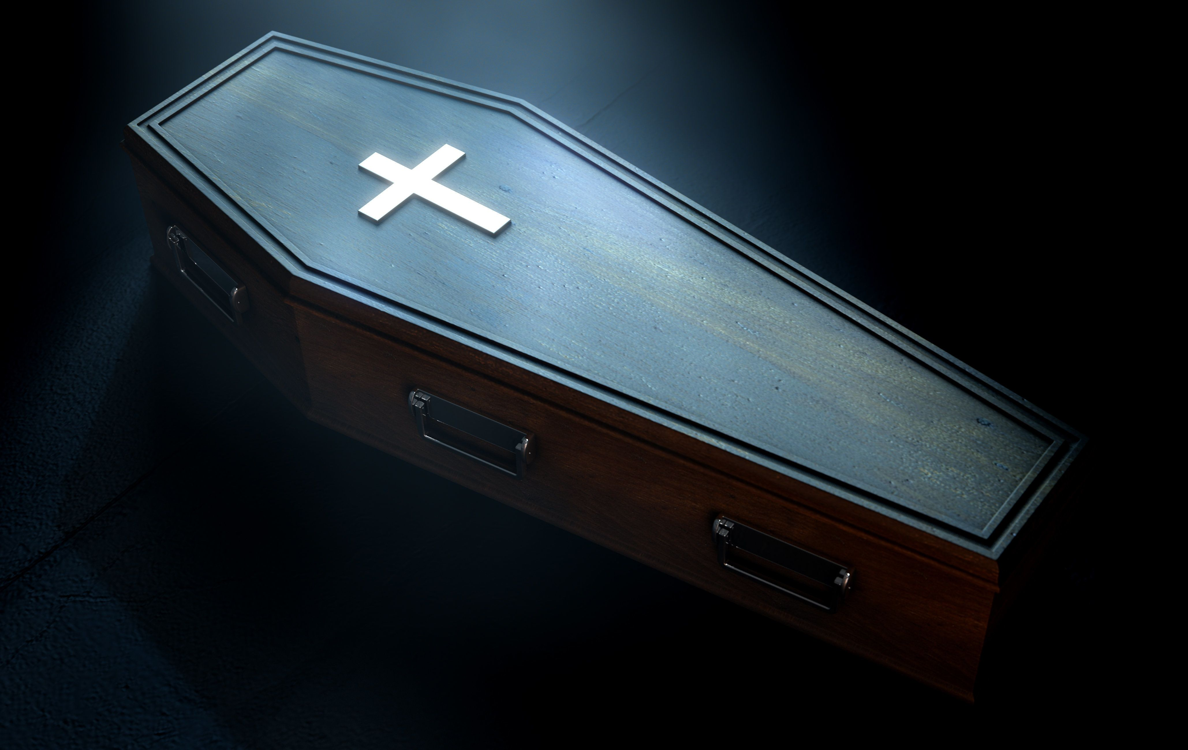 Commuters Spooked After Coffin Is Mysteriously Abandoned At Bus