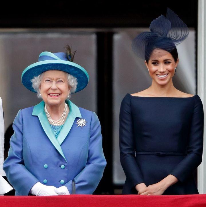 Meghan Markle will speak about Queen Elizabeth II in a new documentary.