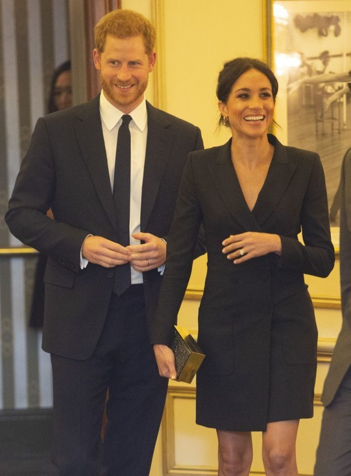 Markle, who joined husband Prince Harry for a performance of Hamilton Wednesday night, was a small-screen star before becoming a royal.