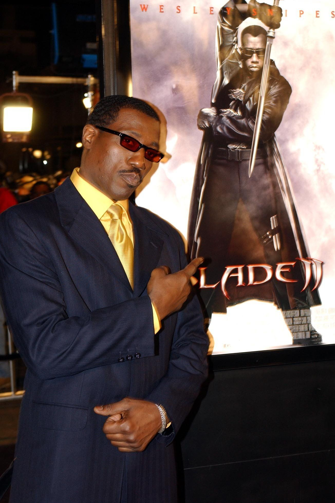 Wesley Snipes Teases Two New 'Blade'