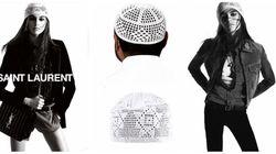 La chachia n'a jamais été aussi rock que dans cette campagne d'Yves Saint Laurent