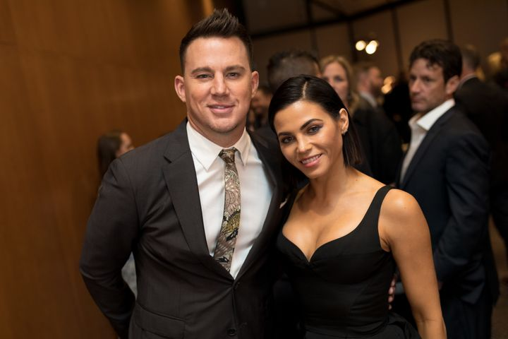 Channing Tatum and Jenna Dewan Tatum in their last public appearance as a couple, in Los Angeles in on November 2017.