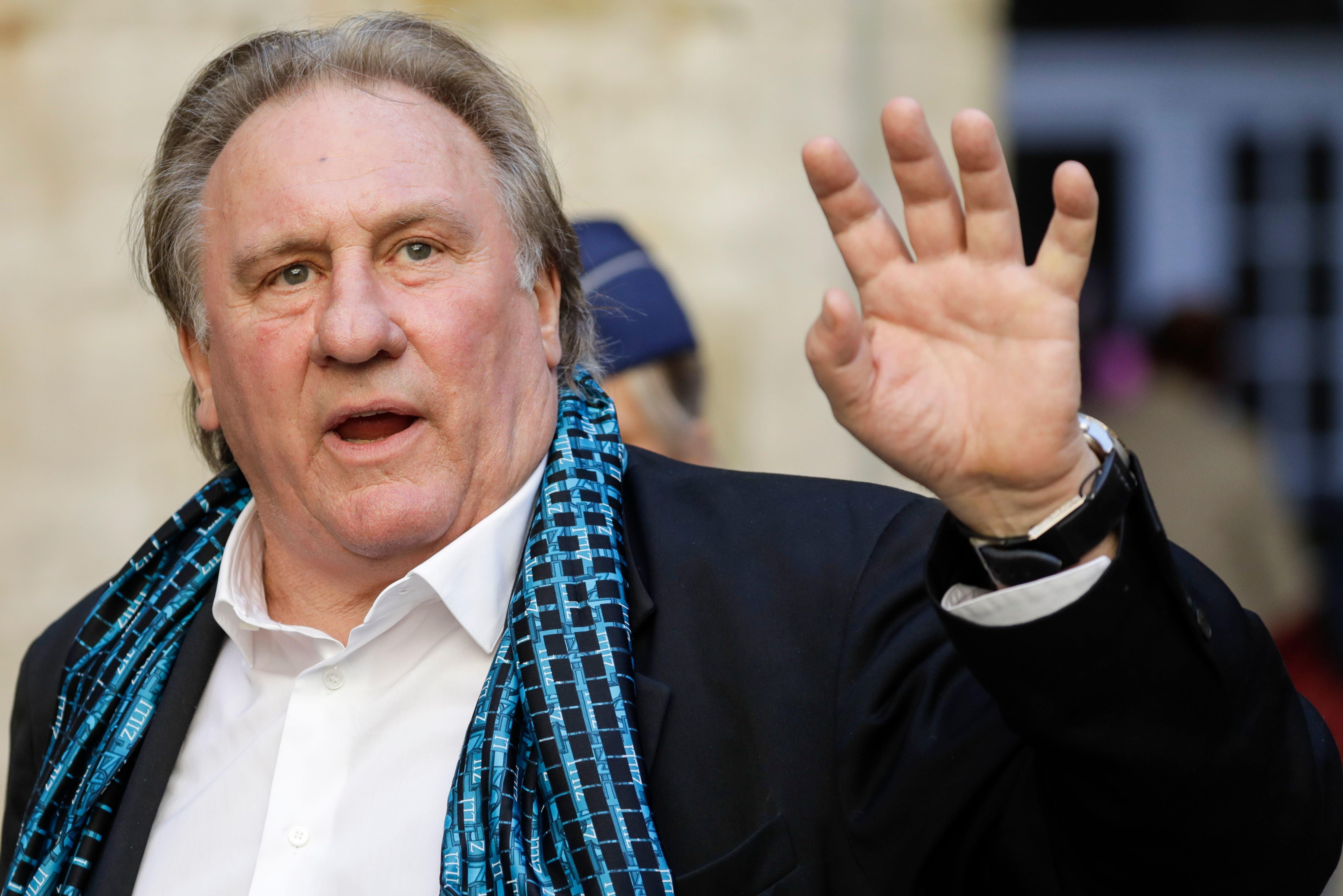 Gérard Depardieu visé par une enquête pour viols et agressions sexuelles, il
