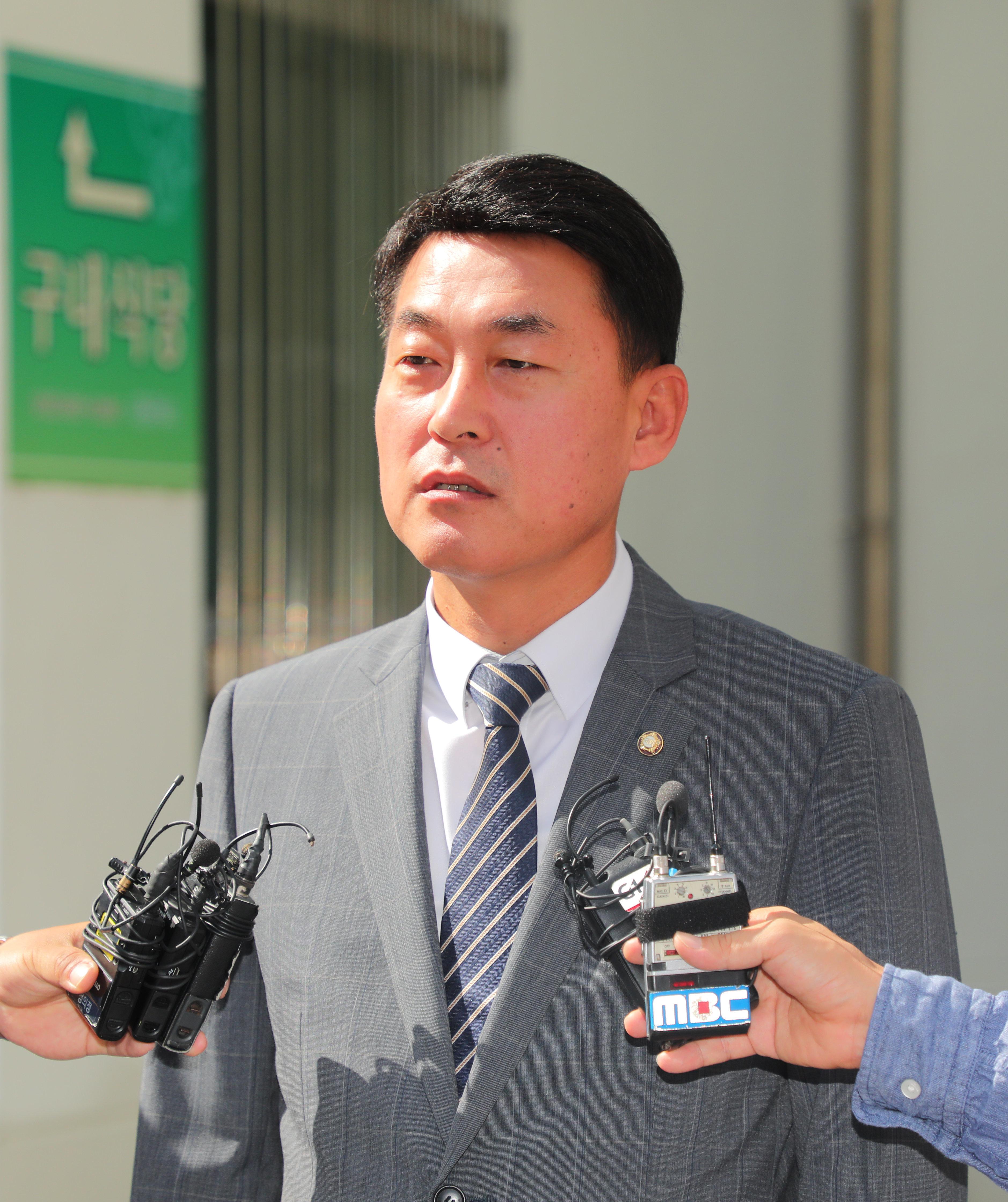 황영철 의원이 정치자금법 위반으로 의원직 상실형을