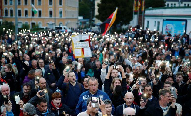 Γερμανία: Χωρίς επεισόδια η πορεία υποστηρικτών της ακροδεξιάς στο