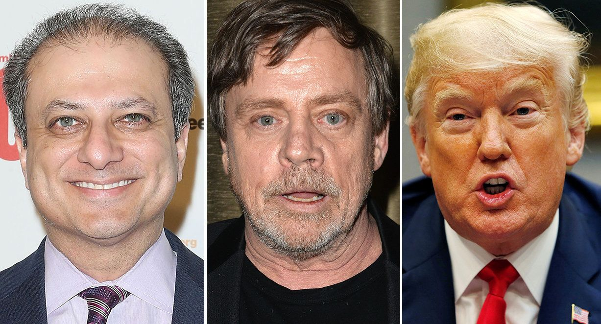 Mark Hamill And Preet Bharara Use The Force For Twitter Takedown Of Donald Trump