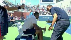 Ce tennisman était si démotivé que l'arbitre a essayé de le remettre dans son