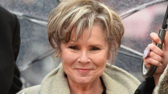 LONDON, ENGLAND - APRIL 08: Imelda Staunton attends The Olivier Awards with Mastercard at Royal Albert Hall on April 8, 2018 in London, England.  (Photo by Jeff Spicer/Getty Images)
