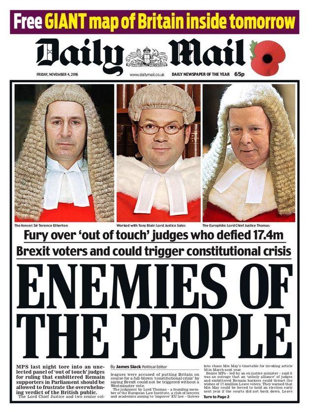 'Enemies Of The People'; Friday 4 November