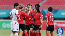 한국 여자축구가 아시안게임 3회 연속 동메달을