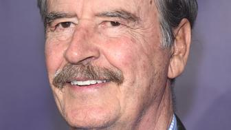 NEW YORK, NY - MAY 14:  Featured winner, former President of Mexico Vicente Fox attends the 22nd Annual Webby Awards at Cipriani Wall Street on May 14, 2018 in New York City.  (Photo by Gary Gershoff/WireImage)