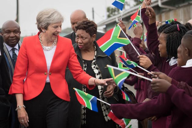 The Worst Thing About May's Visit To Africa Wasn't The
