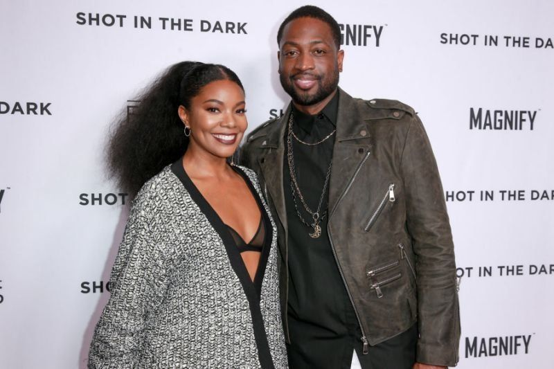 Gabrielle Union and Dwyane Wade.