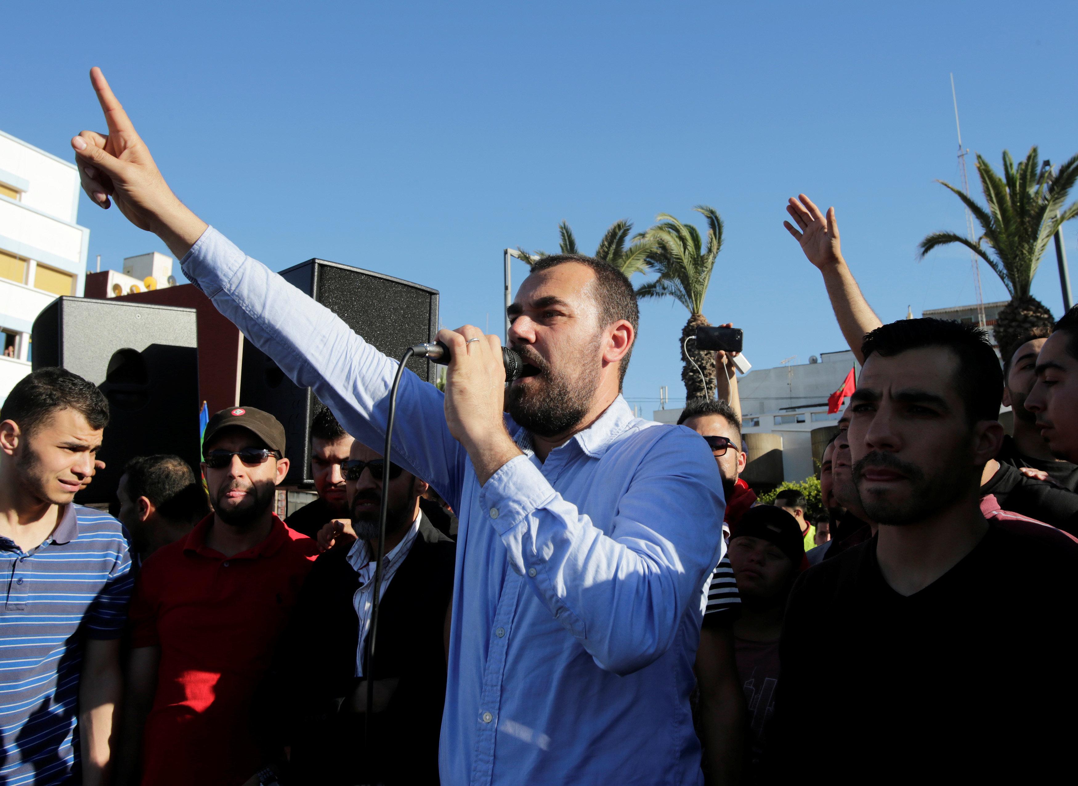 """Leader du Hirak, Nasser Zefzafi entame une grève de la faim """"de non-retour"""""""