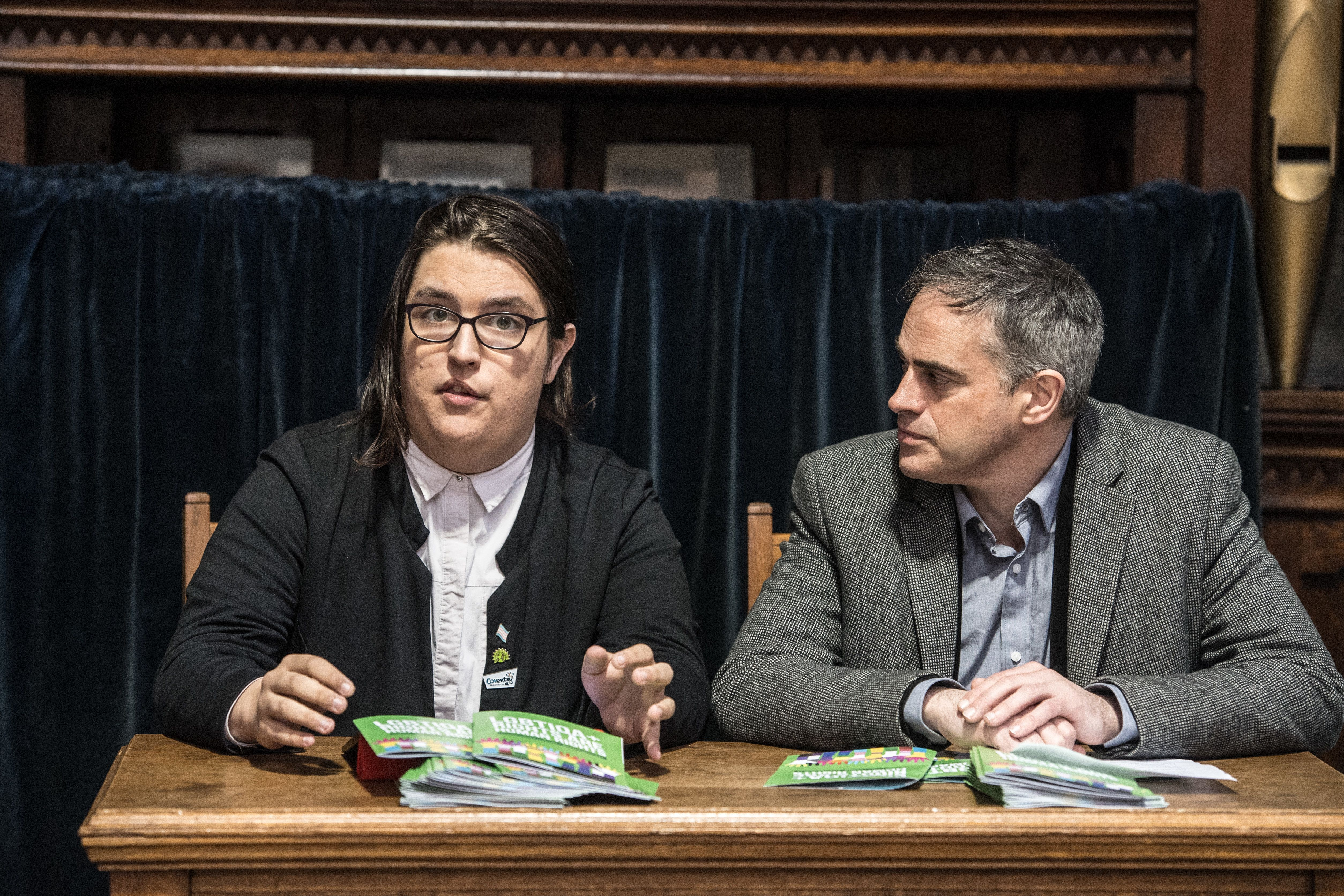 The Green Party has suspended Aimee Challenor