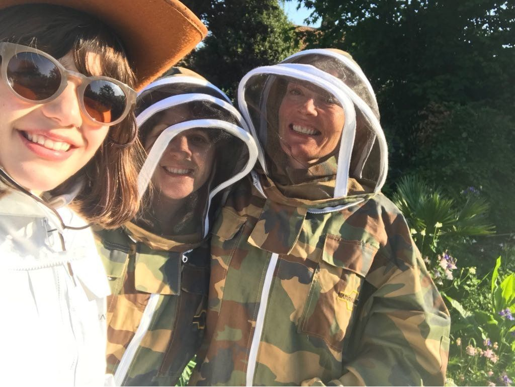 What Works For Me: 'A Morning Coffee With My Bees Calms Me Before