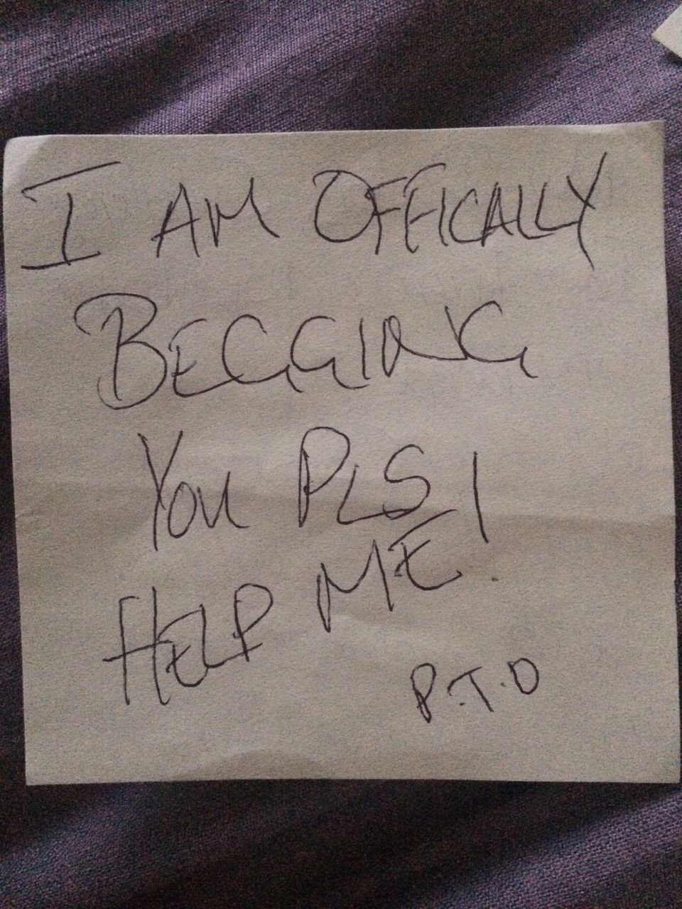 Post-It Notes Reveal Anguish Of Disabled Man Who Killed Himself After £20 Benefit
