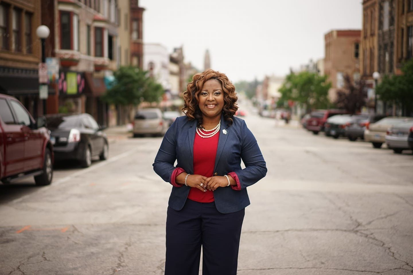 Nikita Richards is the Democratic nominee for McLean County clerk in Illinois. She's actually found a way to make a clerk rac