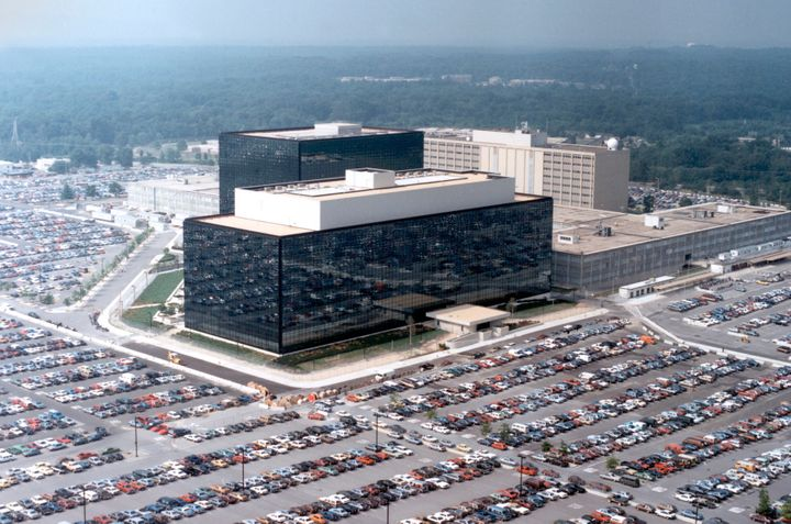 The Fort Meade, Maryland, headquarters of the National Security Agency.