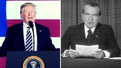 Trump ist näher am Abgrund, als Nixon es war, bevor er zurücktrat