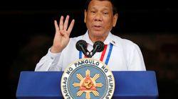 필리핀 두테르테 대통령이 '농담'이랍시고 연설 중 한