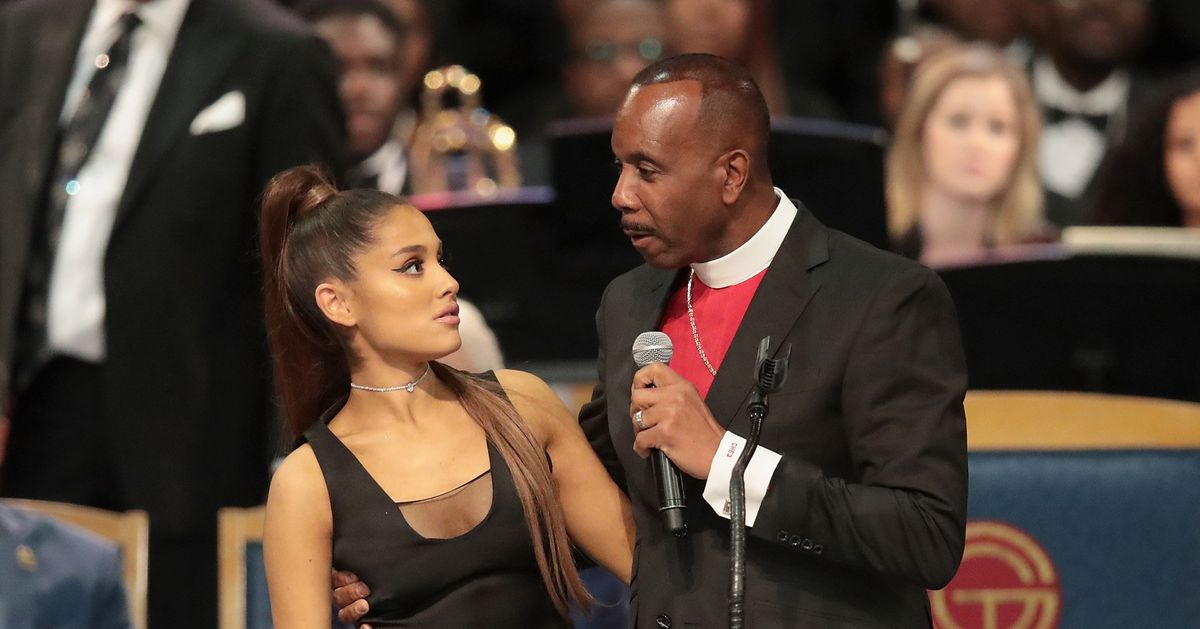Ariana Grande Receives Apology From Bishop Accused Of Touching Her Breast  At Aretha Franklin Funeral