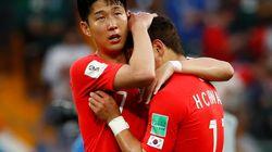 명예 한국인처럼 축구 한일전의 승리를 기원하는 외국인들이