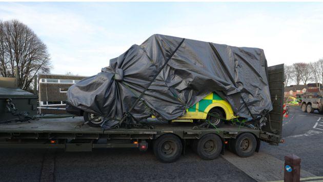 Salisbury Novichok 999 Vehicles Buried In Hazardous Waste
