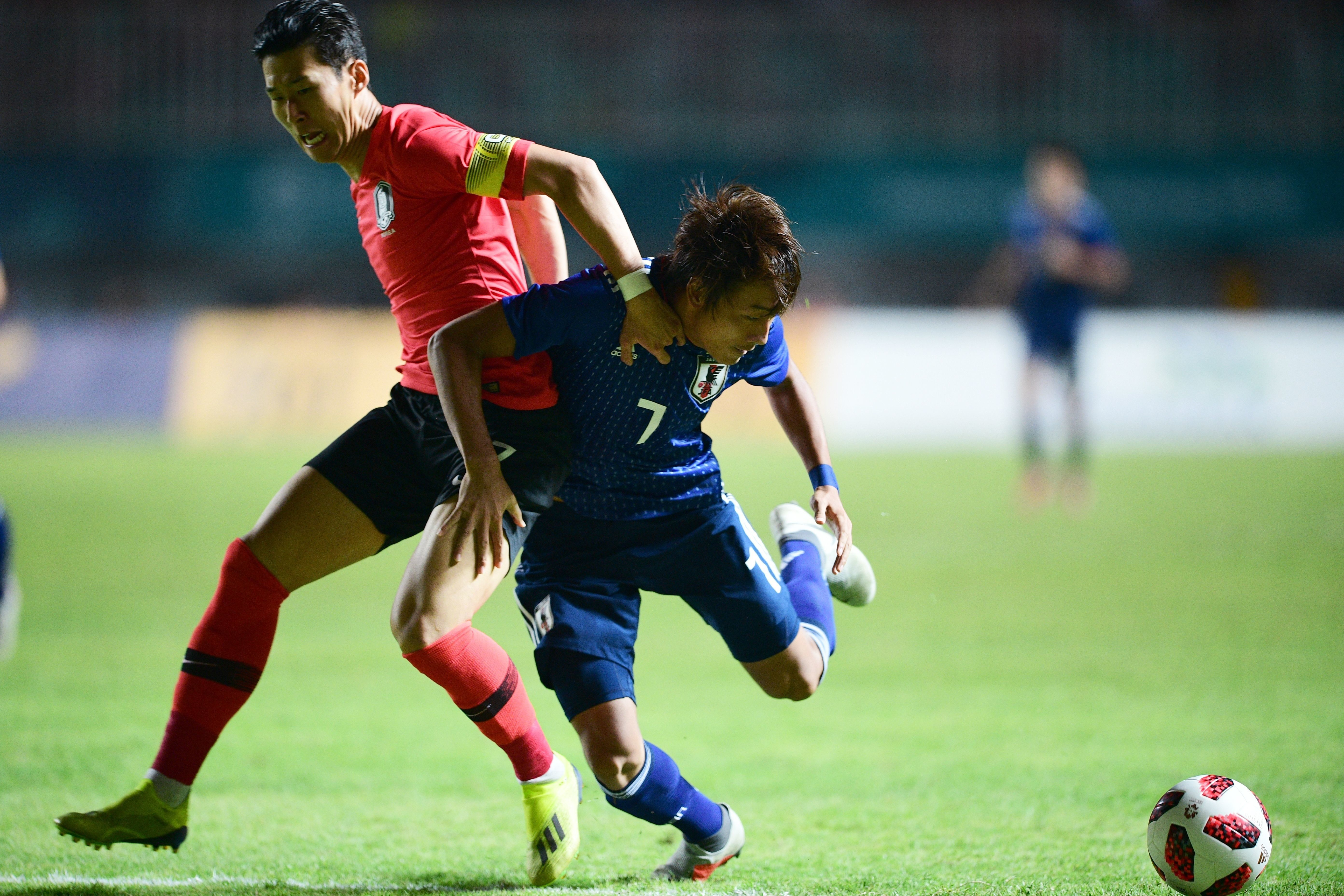 아시아축구 남자축구 결승전이 정규 시간에 승부를 가리지